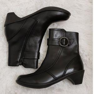 DANSKO - Black Leather Booties